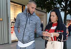 Quaresma eşiyle birlikte alışverişte