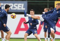 Fenerbahçede Trabzonspor mesaisi sürdü