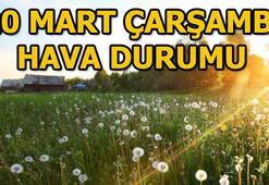 Çarşamba günü hava durumu nasıl 20 Mart İstanbul, Ankara ve İzmir hava durumu