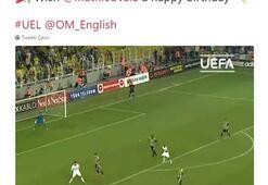 UEFAdan F.Bahçelileri kızdıran gaf Valbuena...