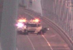 Yavuz Sultan Selim Köprüsünde kaza 1 kişi öldü, 2 polis yaralı