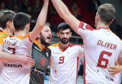 Galatasaray - İkbal Afyon Belediye Yüntaş: 3-0