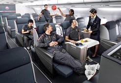 Business yolcuları yemeklerini kendisi seçecek