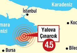 'Beklenen depremle ilgisi bulunmuyor'