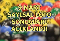Sayısal Loto çekiliş sonuçları açıklandı 9 Mart Sayısal Loto sorgulama ekranı