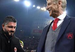 Milanda Arsene Wenger sesleri