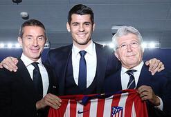 Atletico Madrid, Moratayı tanıttı