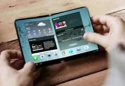 Samsungun katlanabilir telefonu çift ekranla gelecek