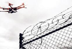 Uyuşturucu taşıyan drone