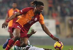 Galatasarayın savunması ikinci yarıda daha iyi