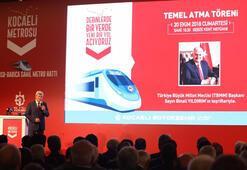 Gebze-Darıca metrosunun temeli 20 Ekim'de atılıyor