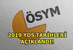 YDS ne zaman yapılacak 2019 YDS tarihleri