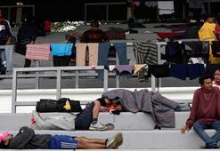 İlk göçmen kafilesi Mexico Cityye ulaştı