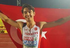 Milli atlet Batuhan Çakırdan Türkiye rekoru