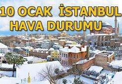 Hava durumu | 10 Ocak İstanbulda hava nasıl