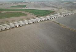 Kervanların geçidi Kırkgöz Köprüsü