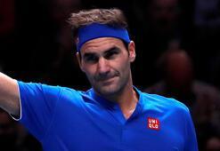 Federer, ATPde siftah yaptı