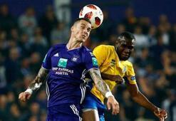 Anderlecht deplasmanda kazandı