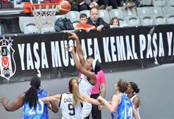 Beşiktaş: 73 - Canik  Belediyespor: 74
