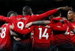 Manchester United farklı kazandı 5 gol...