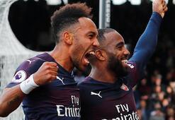 Lacazette ve Aubameyang alev aldı, Arsenal kazandı