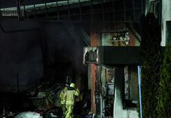 Arnavutköydeki fabrika yangını tamamen söndürüldü