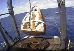 SpaceXin Crew Dragon mekiği Dünyaya döndü