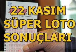 22 Kasım Süper Loto sonuçları açıklandı (Süper Lotoda büyük ikramiye...)