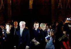 Macron 7 gün sürecek Ateşkes Günü turuna Strazburgdan başladı