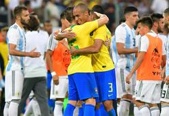 Brezilya - Arjantin: 1-0