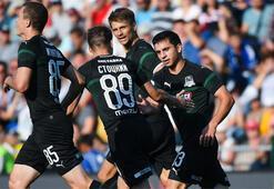 Krasnodar Futbol Takımı, İzmire geldi