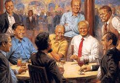 Trump Cumhuriyetçi başkanlar tablosunda