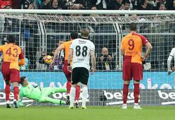 Beşiktaş - Galatasaray: 1-0 (İşte maçın özeti)