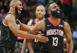 Houston Rocketstan 3 sayı rekoru