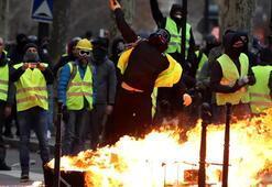 Fransadaki protestolarda gözaltına alınanların sayısı belli oldu
