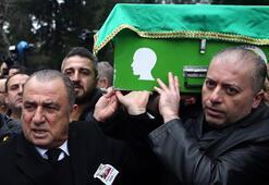 Fatih Terimin babası Talat Terim son yolculuğuna uğurlandı
