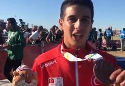 Mehmet Çelikten bronz madalya
