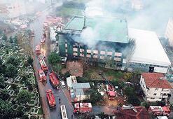 İstanbul'da bir yılda 95'inci fabrika yangını
