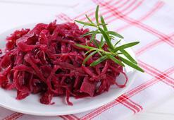 Fermente mor lahana turşusu tarifi
