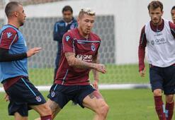 Trabzonspor antrenmanında moral bozan sakatlık