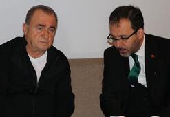 Bakan Kasapoğlundan Fatih Terime taziye ziyareti