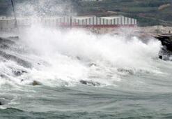 Akdeniz ve İç Anadolu'da fırtına uyarısı