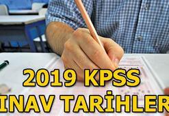 2019 KPSS tarihleri belli oldu ÖSYM sınav takvimi