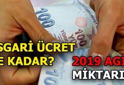 2019 AGİ ne kadar Asgari ücret zam oranı açıklandı