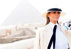 Melania Trump Mısır'da