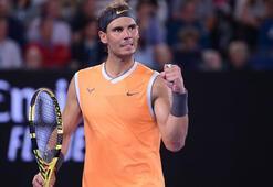 Rafael Nadal set vermeden 4. turda
