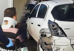 Karne kutlamasına giderken kaza yaptılar: 2si öğrenci, 3 yaralı
