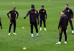 Galatasaray, Porto maçının hazırlıklarının tamamladı