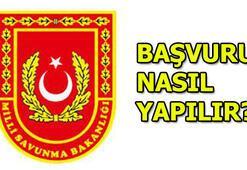 Milli Savunma Bakanlığı personel alımı şartları MSB başvuruları...