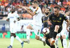 Aytemiz Alanyaspor - Evkur Yeni Malatyaspor: 0-1